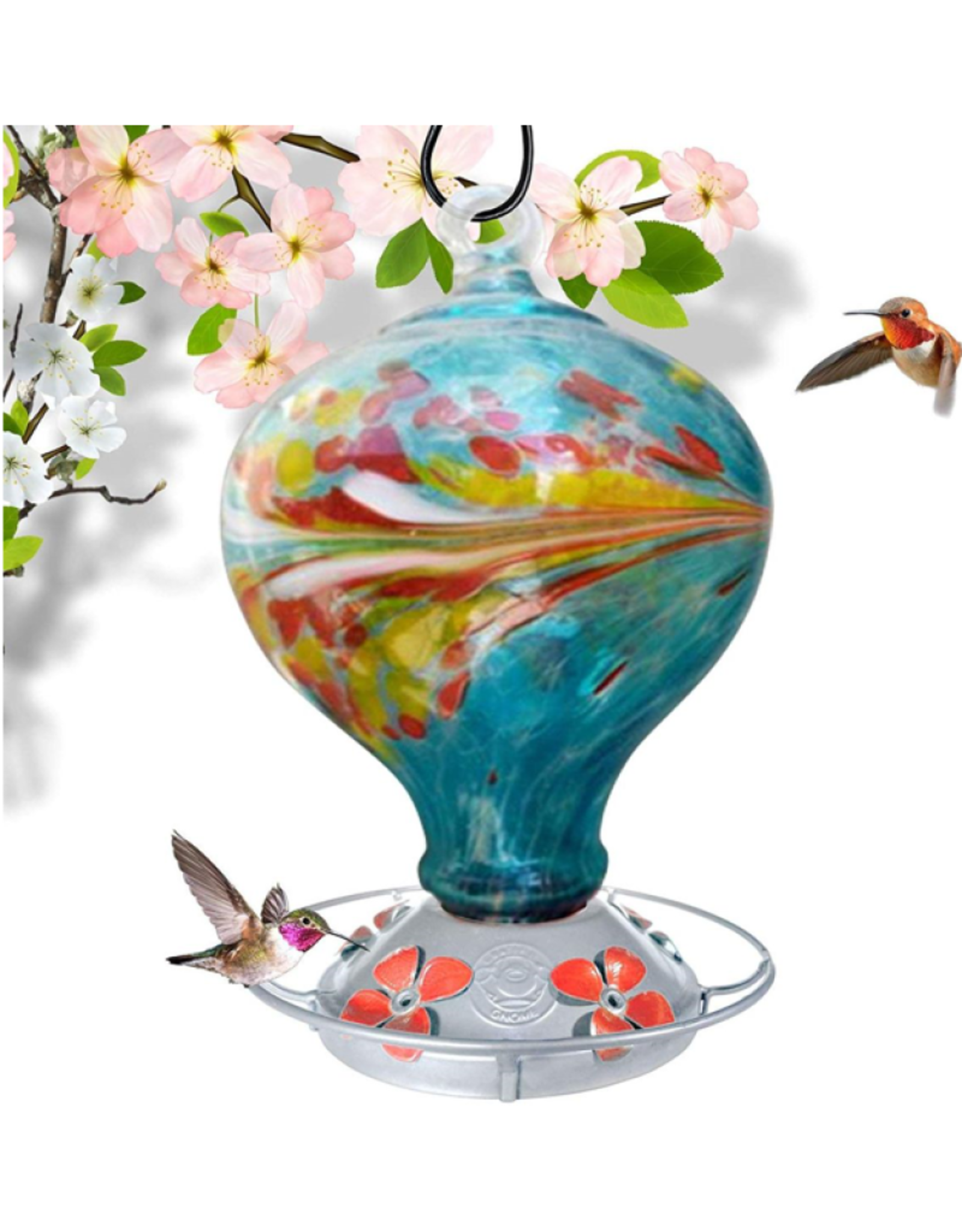 Hummingbird Feeder - Spring Breeze