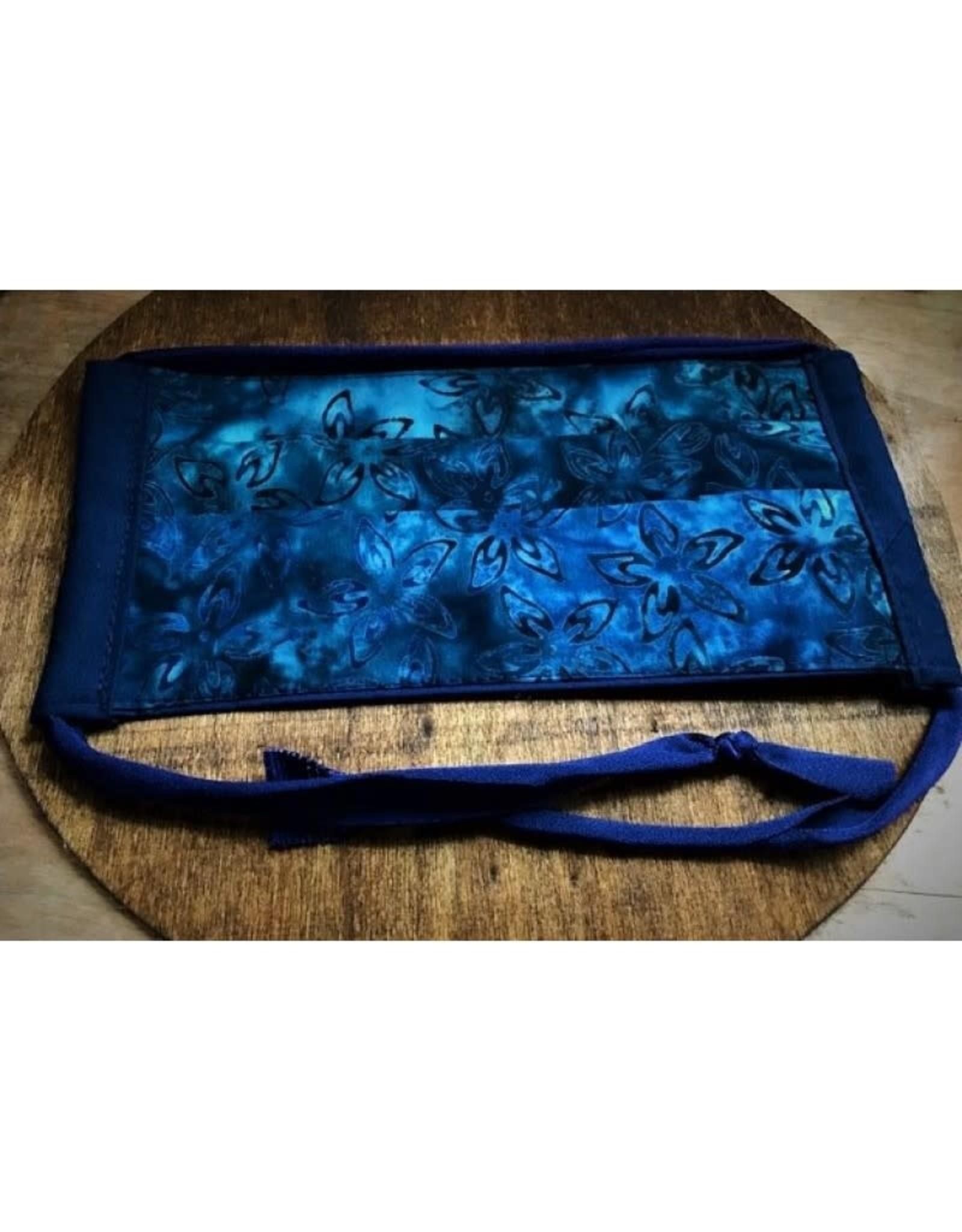 Bear Den Handmade Cotton Mask - Blue Batik