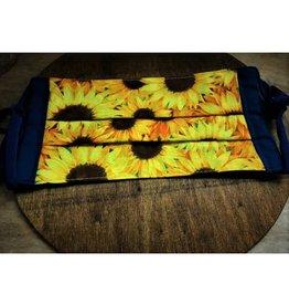 Bear Den Handmade Cotton Mask - Sunflowers