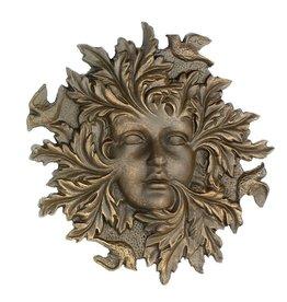 Golden Goddess Garden Face