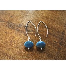Dangle Earrings - Leland Blue Circle