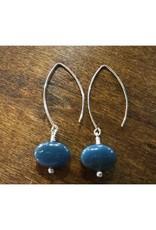 Dangle Earrings - Leland Blue Circle