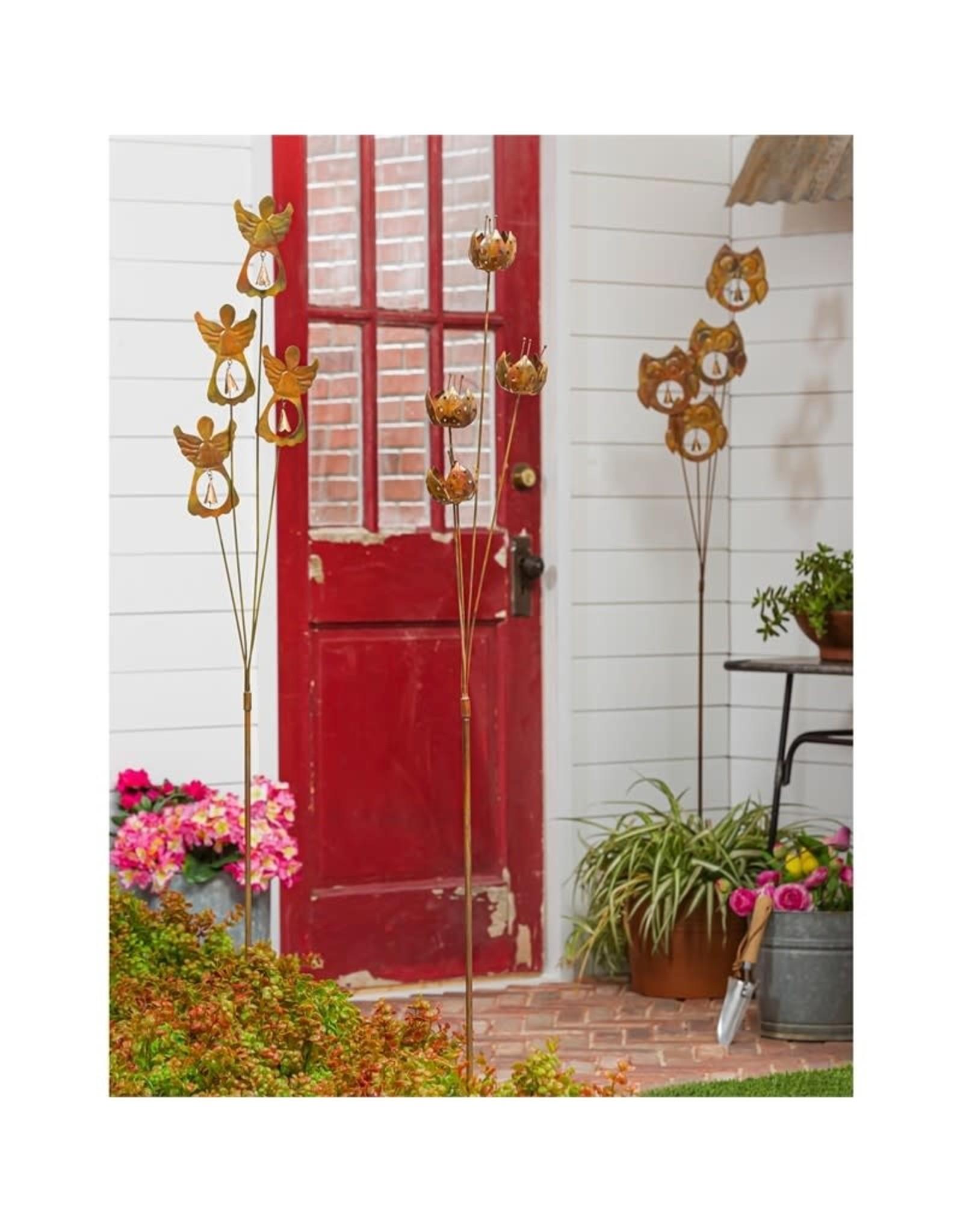 Metal Stake - Lilies