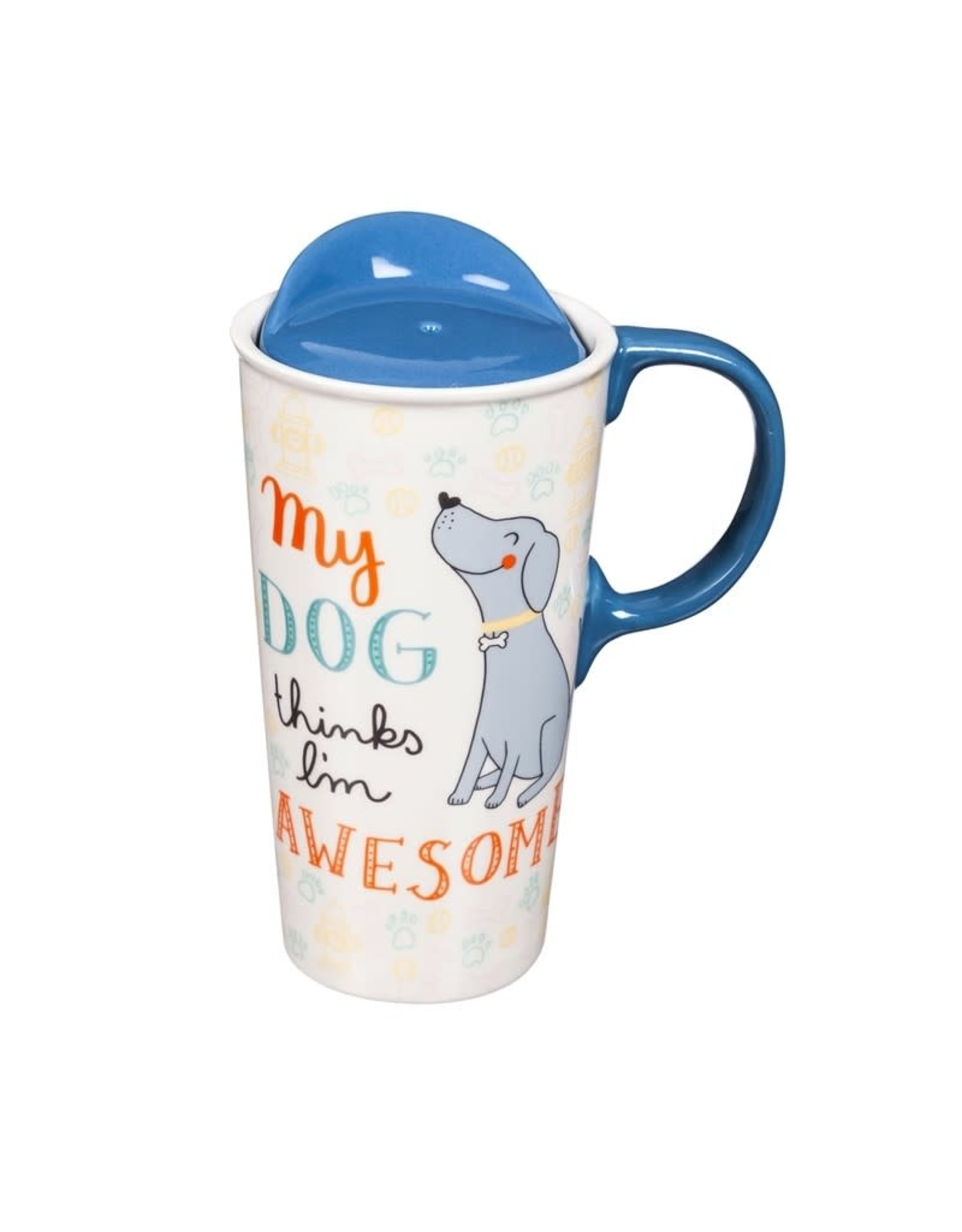 Travel Mug - My Dog Thinks I'm Awesome