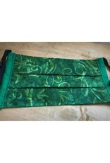 Bear Den Handmade Cotton Mask - Green Batik