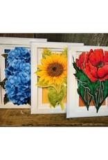 More Than A Card By Chris Garden Card - Hydrangea