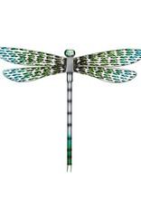 Metal Wall Dragonfly - Green