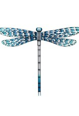 Metal Wall Dragonfly - Blue