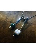 Ribbon Pendant - Leland Blue & Freshwater Pearl