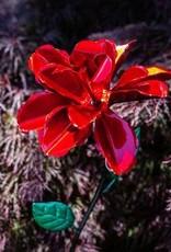 Kinetic Rose Stake - Red