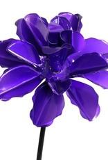 Kinetic Rose Stake - Purple
