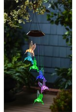 Solar Mobile - Color Changing Hummingbirds