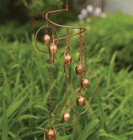 Spiral Mobile - Bells & Circles