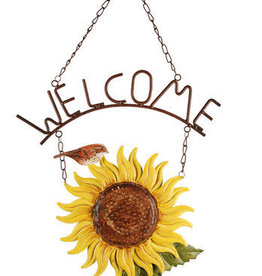 Sunflower Welcome Sign