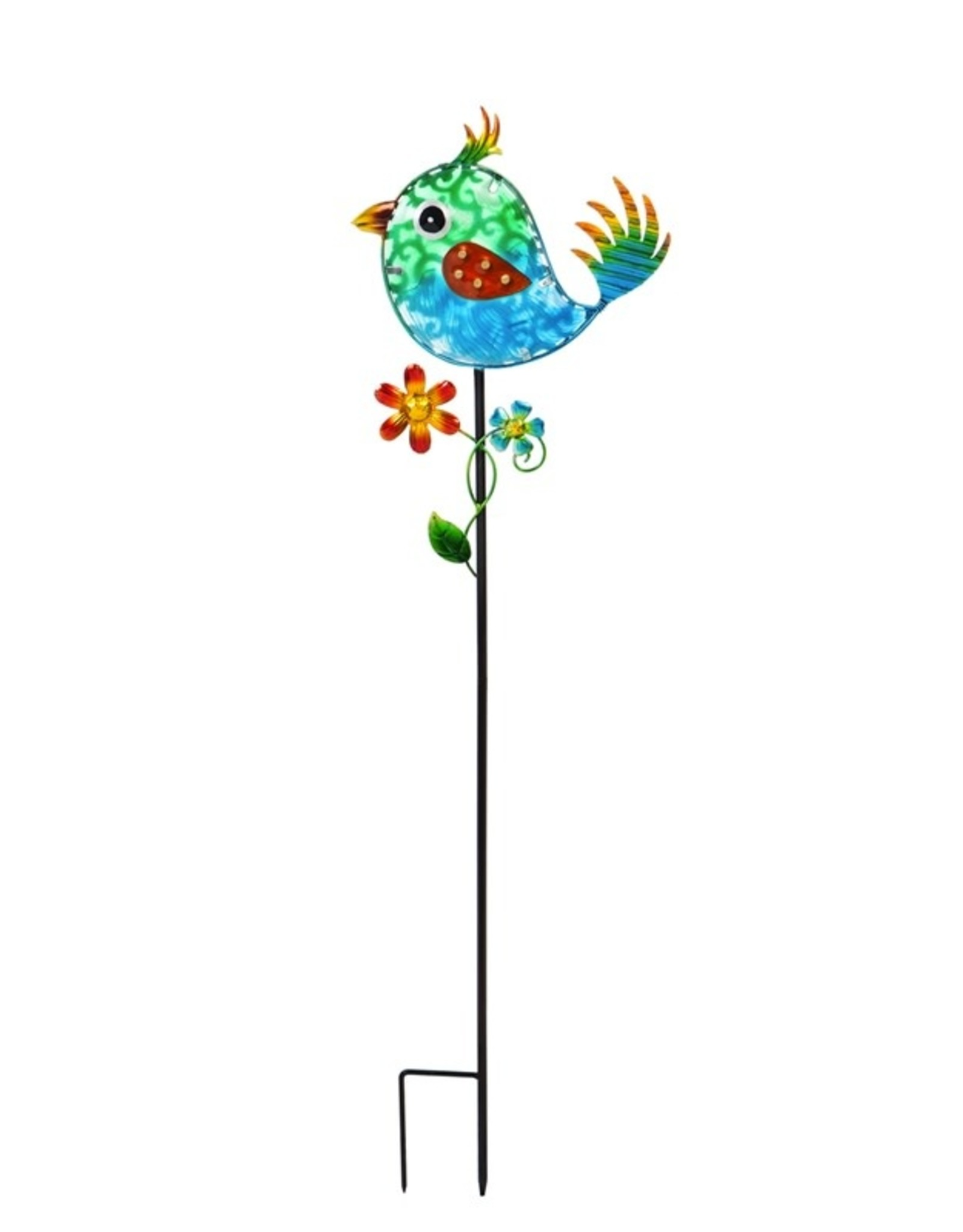Secret Solar Garden Stake - Bird