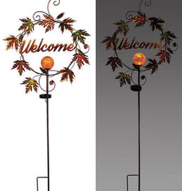 Harvest Welcome Solar Stake