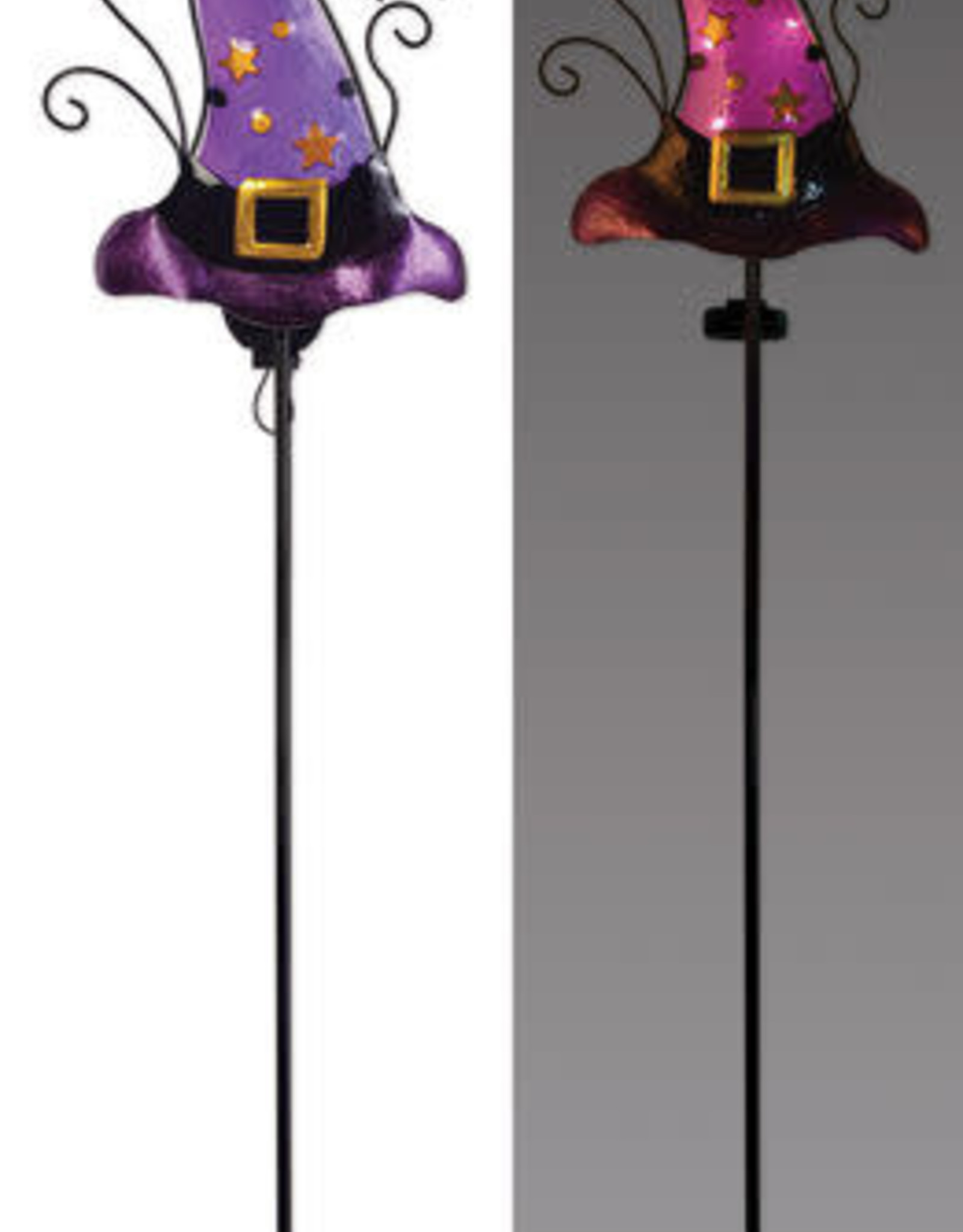 Solar Hat Stake - Purple