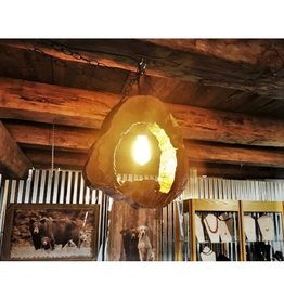 CraftCesi Rustic Wooden Light Fixture