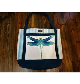 Bear Den Handmade Embroidered Bag - Dragonfly