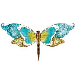 28 Inch Wall Art Dragonfly - Blue