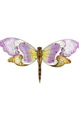 28 Inch Wall Art Dragonfly - Purple