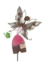 Garden Stake - Diggity Fairy With Watering Can