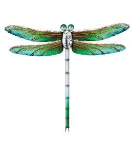 Metallic Dragonfly 15'' - Green