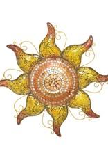Mosaic Sun - Copper 24''