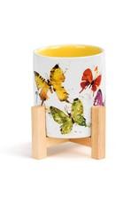Dean Crouser Flock of Butterflies Mini Planter