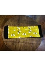 Bear Den Handmade Cotton Masks - Happy Bumblebees