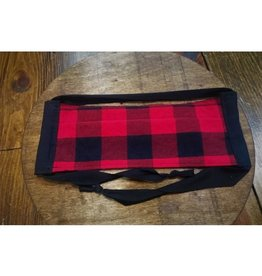 Bear Den Handmade Cotton Mask - Buffalo Plaid