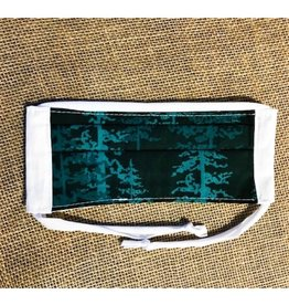 Bear Den Handmade Cotton Mask - Pine Trees