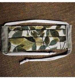 Bear Den Handmade Cotton Mask - Leaves