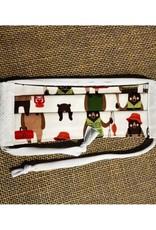 Bear Den Handmade Cotton Mask - Fishing Bears