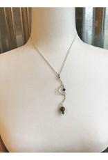 Boho Necklace Pendant - Petoskey & Leland Blue