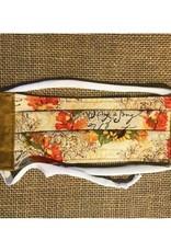 Bear Den Handmade Cotton Mask - Sing a Song of Harvest