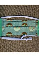 Bear Den Handmade Cotton Mask - Star Wars Baby Yoda