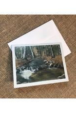 Ron Wetzel Card 4.5''x6''- Orchard Creek