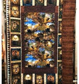 Cabin Quilt 60 x 80