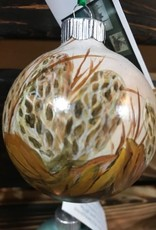 Hand-Painted Ornament - Morel Mushrooms