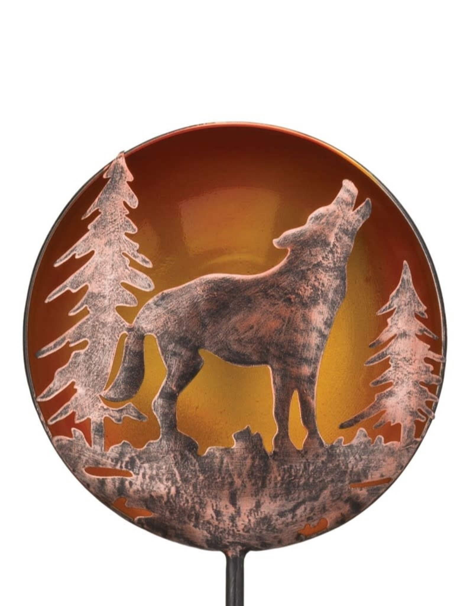 Night Sky Solar Stake - Wolf