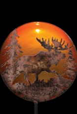 Night Sky Solar Stake - Moose
