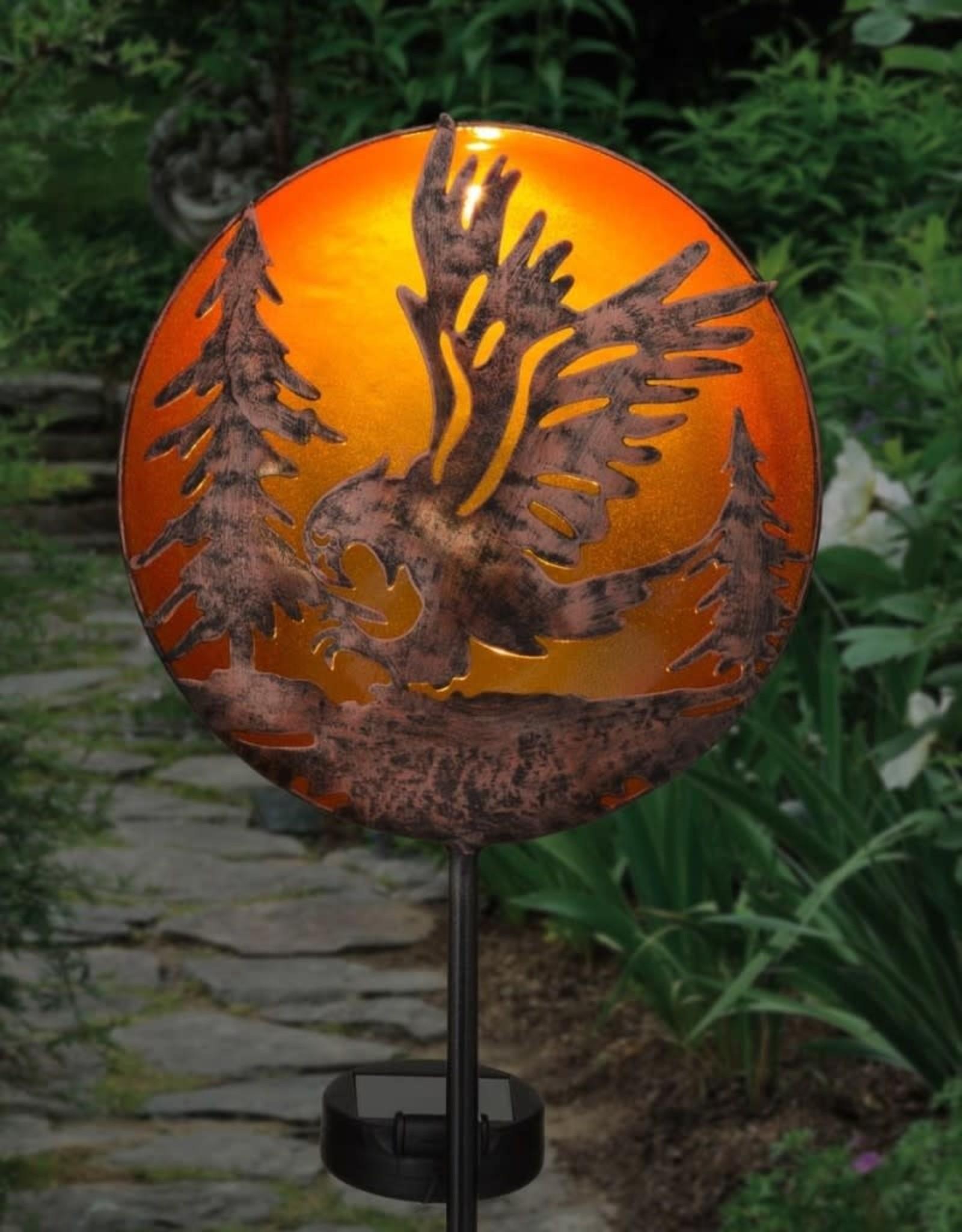 Night Sky Solar Stake - Eagle