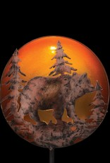 Night Sky Solar Stake - Bear