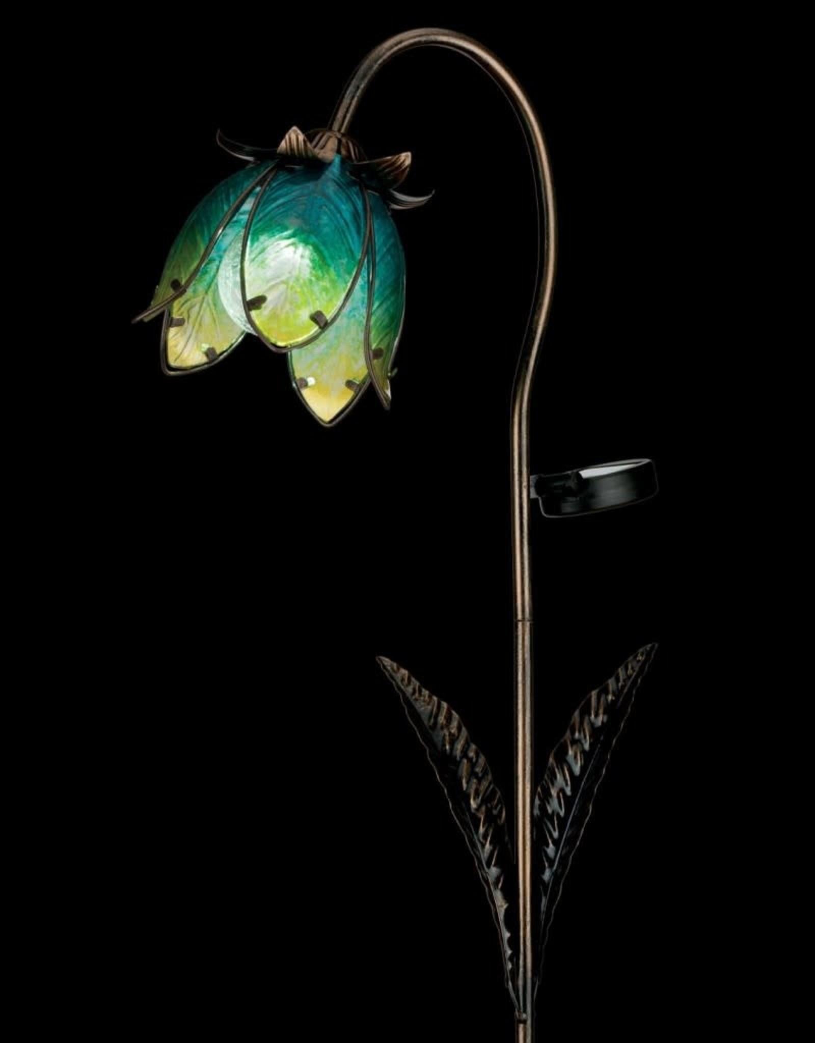 Solar Wildflower Stake - Blue