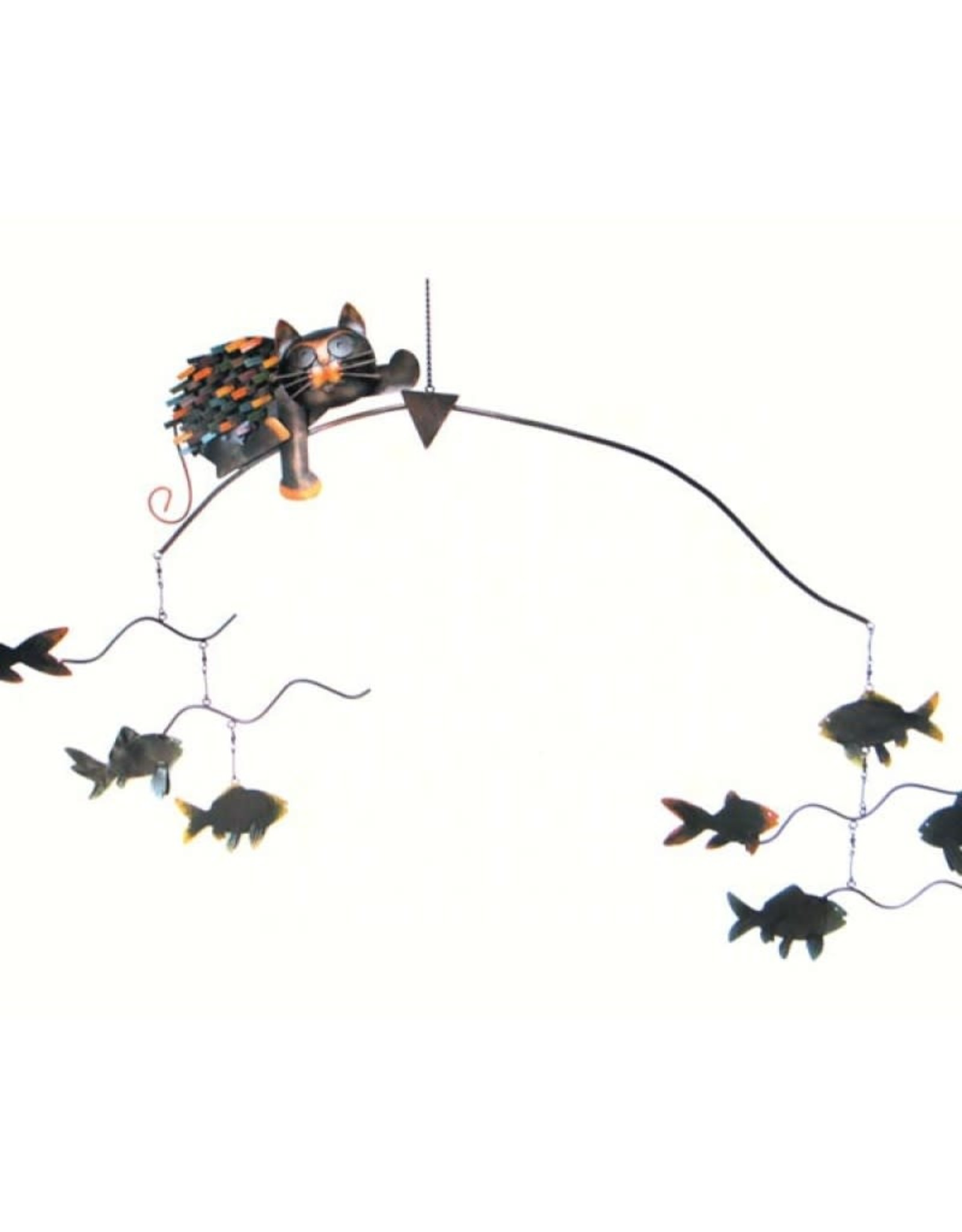 Balancer - Cat with Fishes