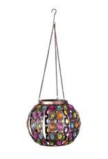 Solar Lantern - Colorful Jewels Garden Globe