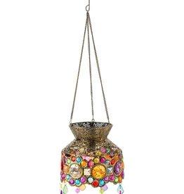Solar Lantern - Colorful Jewels Garden Light