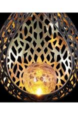 Solar Stake - Metal Filigree Full Flame