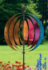 Kinetic Wind Spinner Stake - Illusion